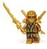 lego ninjago gold ninja weapons figure