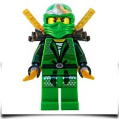 Buy Now Lloyd Zx green Ninja With Dual Gold Swords