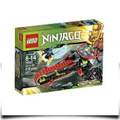 Ninjago Warrior Bike 70501