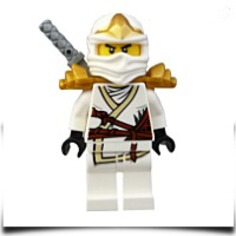 On SaleNinjago Zane Zx Minifigure With Armor