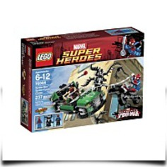 Buy Now Super Heroes Spidercycle Chase 76004