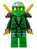 lloyd green ninja dual gold swords