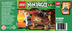 lego ninjago mini figure hidden sword