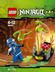 lego ninjago mini figure snake battle