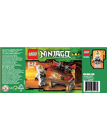 Ninjago Mini Figure Set 30086 Hidden