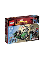 Super Heroes Spidercycle Chase 76004